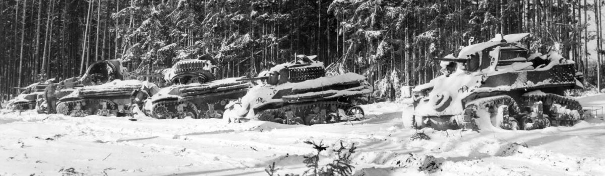 The 28th Infantry Division's Heroic Defense during the Battle of the Bulge