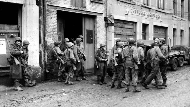 28th Infantry Division's 110th Regimental Combat Team