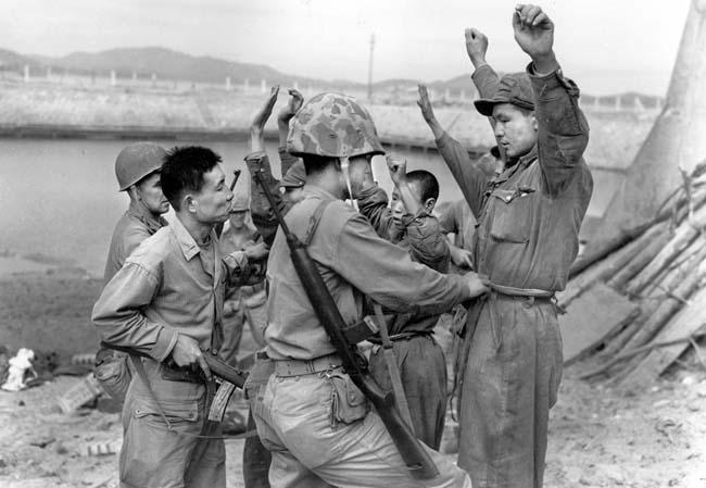 Inchon Landing prisoners