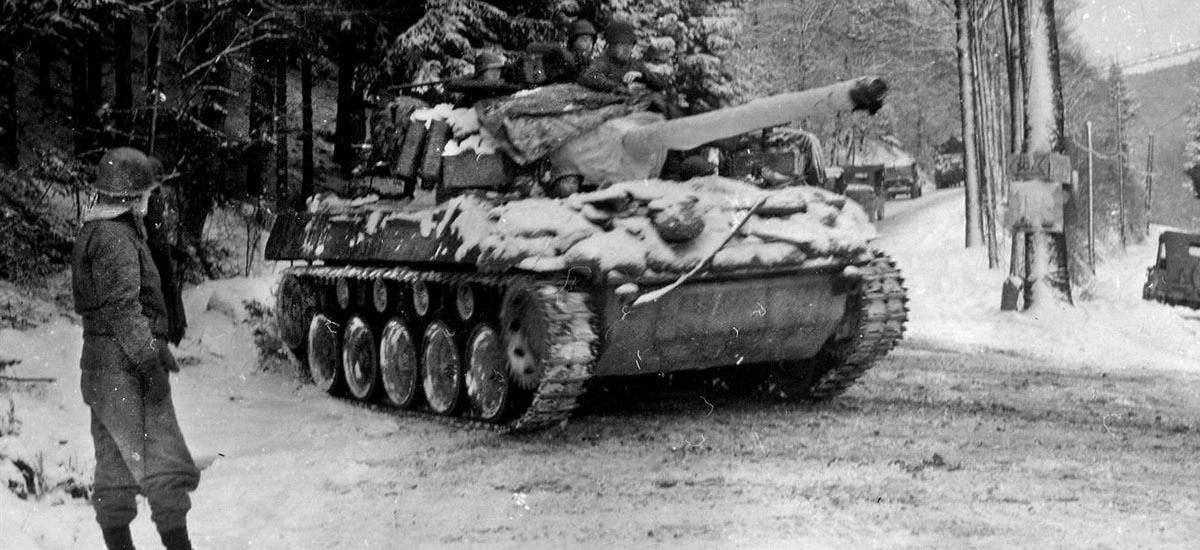 M-18 Hellcat tank destroyer