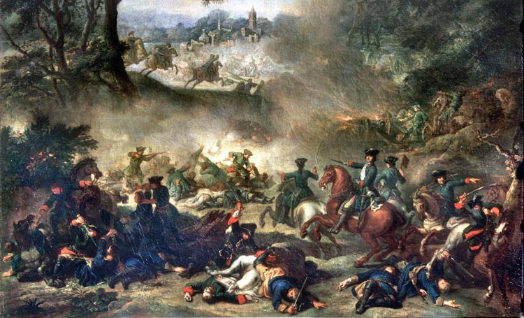 battle Lesnaya 1709