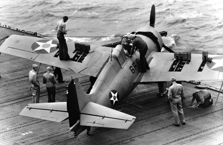 Grumman F4F-4 Wildcat fighter