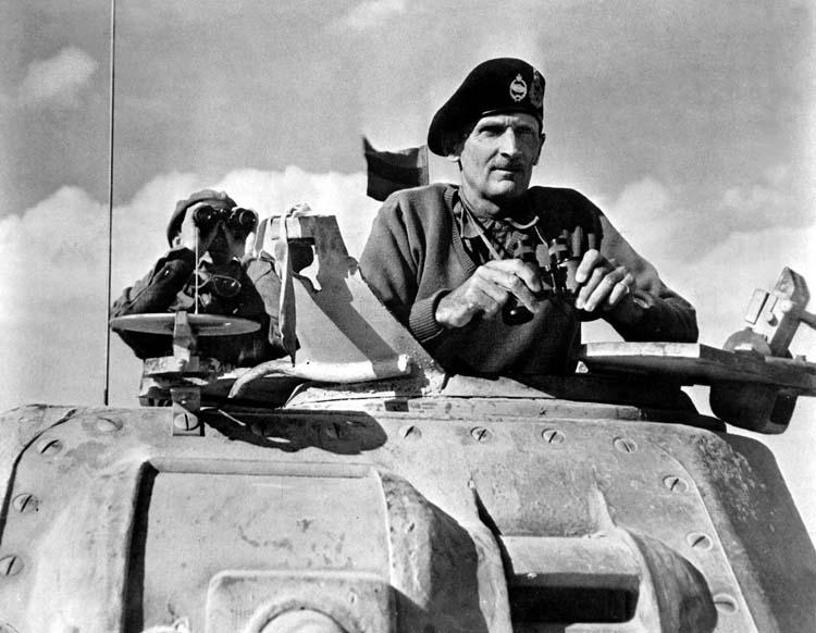 Field Marshal Sir Bernard Law Montgomery