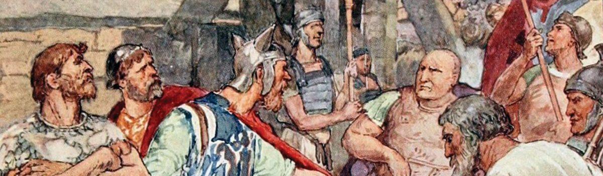 Gaius Marius led his Roman Legions against the Celto-Germanic Cimbri
