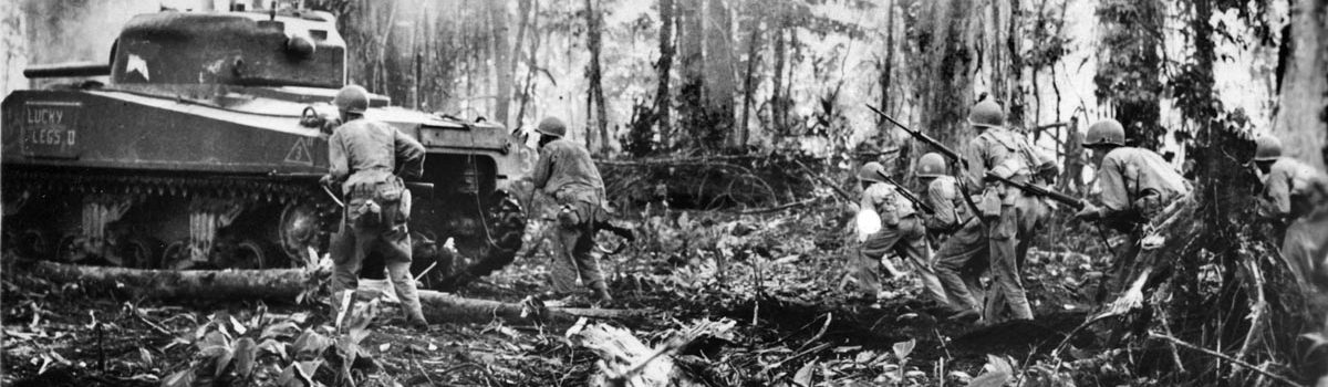 Savage Fight for Hill 700 on Bougainville