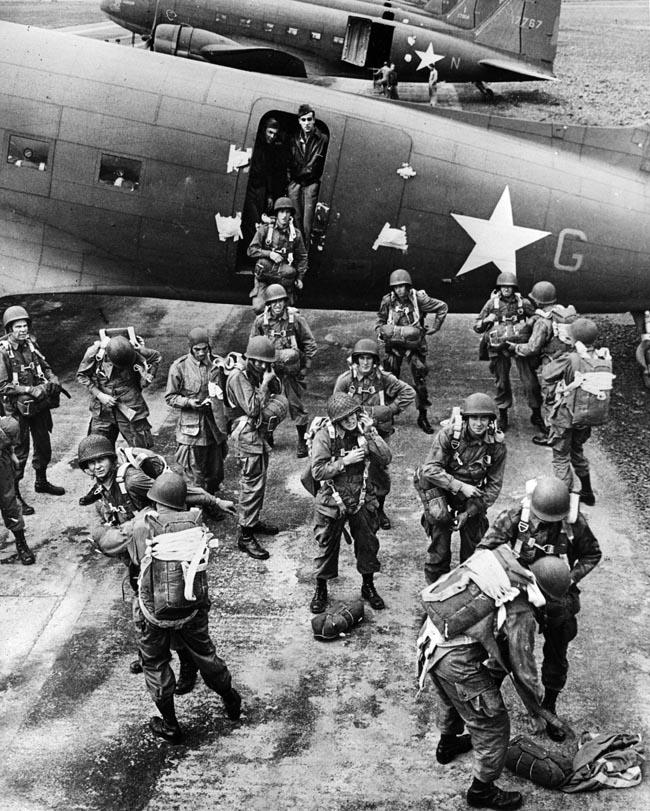 C-47 crewman