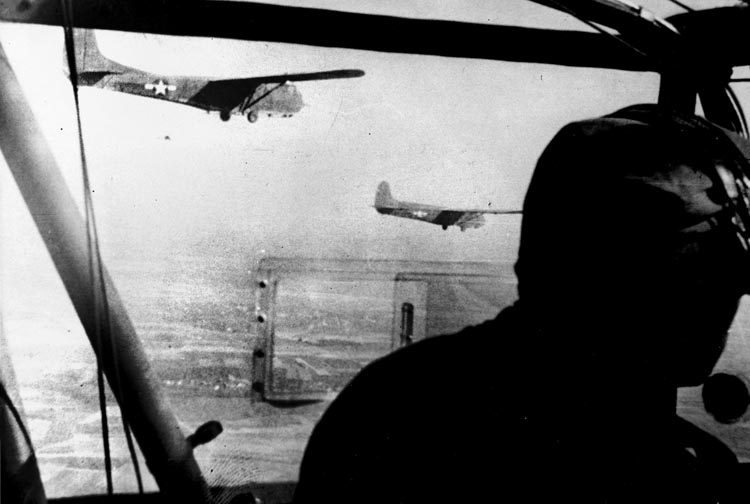 C-47 and glider