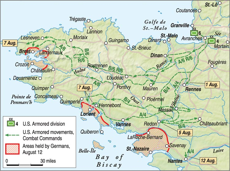battle of brittany