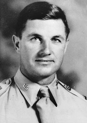 Colonel Edson D. Raff, 507th PIR's commander.