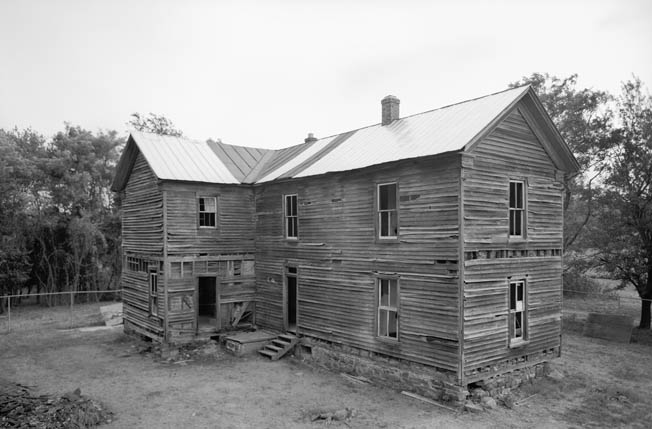 The Brawner farm house was a focal point for both sides during the battle. John Brawner and his family left the house as shots and shells passed through it, but returned later to find it still standing.