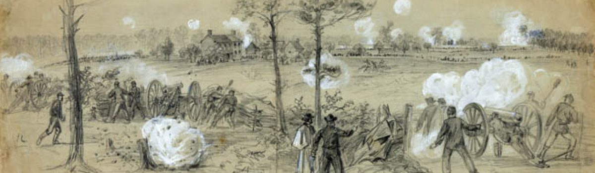 The Artillery Reserve of the Army of the Potomac
