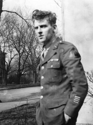 Private First Class Irving Bromberg, a native of Columbus, Ohio, served as a tank bow gunner in Fox Company, 66th Armored Battalion, 2nd Armored Division for almost the entire ground war against Nazi Germany.