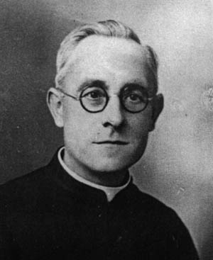 Father Albert LeBlastier, one of the priests murdered at Graignes by panzergrenadiers of the 17th SS.
