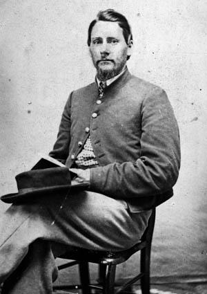 Clement Waldron, 1st Michigan.