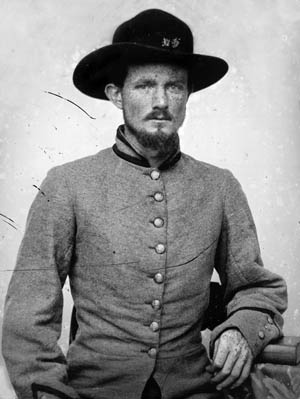 Private Peter Bird of the 2nd Virginia.