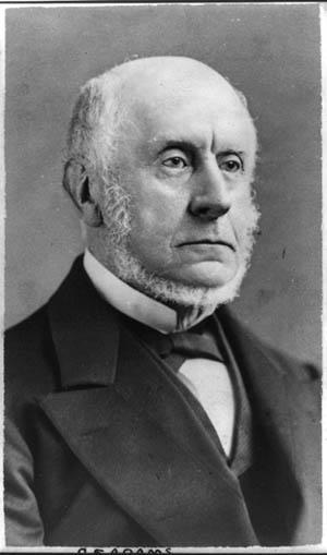 Charles Francis Adams, American ambassador to Great Britain.