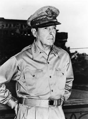 General Douglas MacArthur was directly ordered by President Roosevelt to leave the Philippines to prevent his capture.