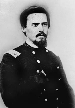 Robert McCook's brother, Brig. Gen. Daniel McCook, killed at Kennesaw Mountain.