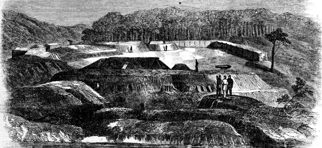 The elaborate earthen works at Fort DeRussy proved surprisingly easy to capture, thanks mainly to hasty removal of all but 300 Confederate defenders.
