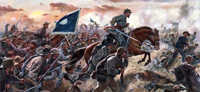 In his last battle in Franklin, Patrick Cleburne led his troops in an effort to pierce the Union defenses. His sense of duty outweighed his doubts.