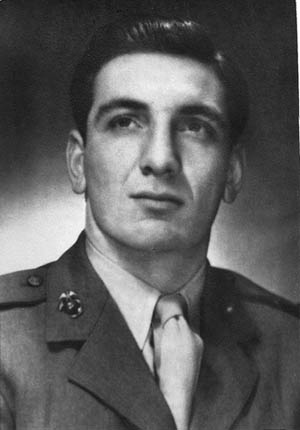 Second Lieutenant Joe Terzi.