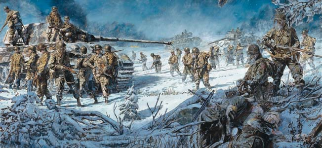 Originally commissioned to take on Martinique, the men of the 551st Parachute Infantry Battalion were instead shipped to Europe and to the Battle of the Bulge.