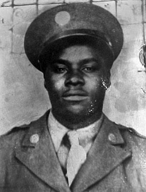 Sergeant William Pritchett of Alabama.
