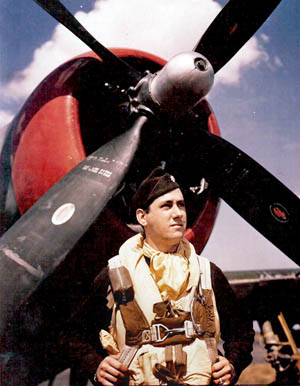Fighter Ace Lt. Col. David C. Schilling led the famous U.S. 56th Fighter Group against the Luftwaffe.