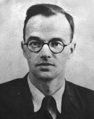 Truman was unaware that Stalin had been informed about the work at Los Alamos by physicist, and Soviet spy, Klaus Fuchs, right.
