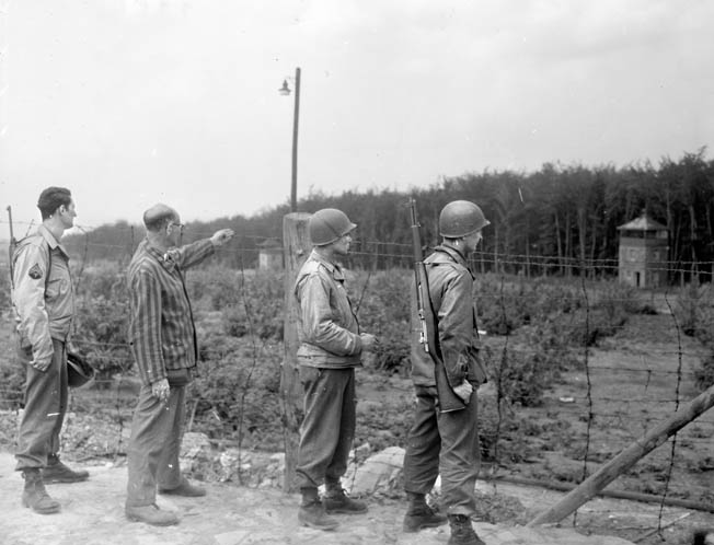 Elements of the U.S. 83rd Infantry Division liberated Langenstein-Zweiberge, a sub-camp of the Buchenwald concentration camp system, on April 11, 1945.
