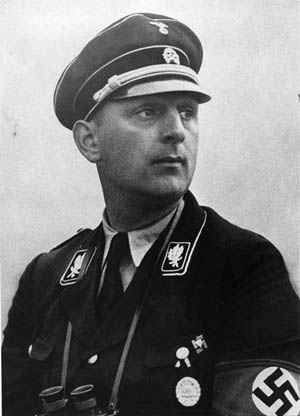 SS General Kurt Daluege was appointed to the post of Reich Protector of Bohemia and Moravia following the death of Reinhard Heydrich. He was convicted of war crimes and died at the end of a rope after the war.