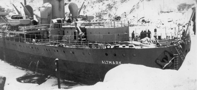 During World War II, the Altmark, Graf Spee and Cossack were three ships linked by fate.