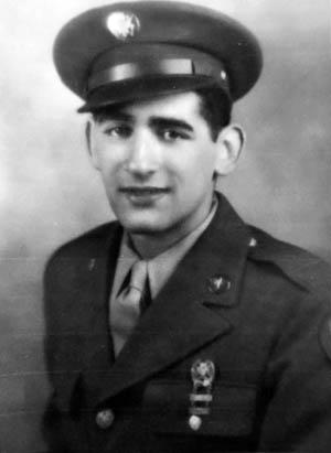 Leon Tulper in uniform.