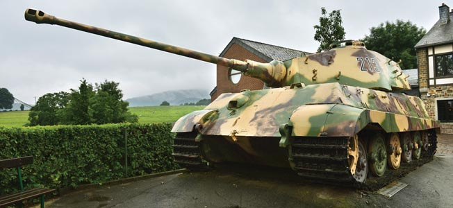 The museum at La Gleize, Belgium is considered among the best museums dedicated to the Battle of the Bulge.