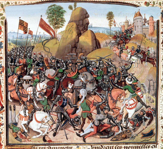 The fighting between the English and the French spilled over into Castile in the 1360s. Both sides sought an alliance with the naval power, and du Guesclin ultimately won the struggle at the Battle of Montiel in March 1369.