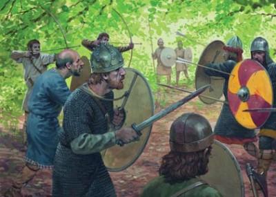 Frankish Disaster in Saxony