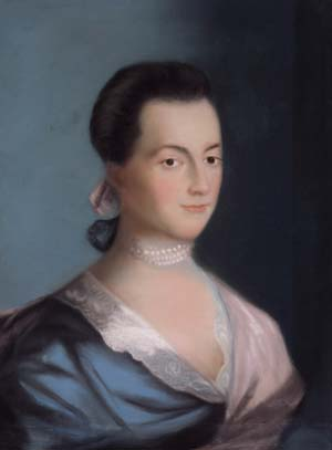 Abigail Adams, the wife of future President of the United States John Adams, was appointed by the Massachusetts Colony General Court in 1775 to discern the loyalty of women in the colony who were accused of Tory sympathies.