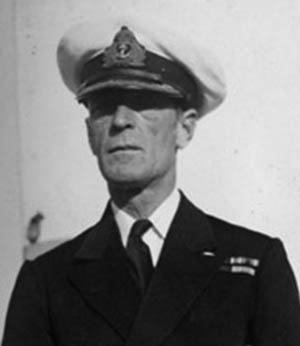 One of the lesser known famous military commanders, Admiral Philip Vian was close to the action in the Atlantic and the Pacific.