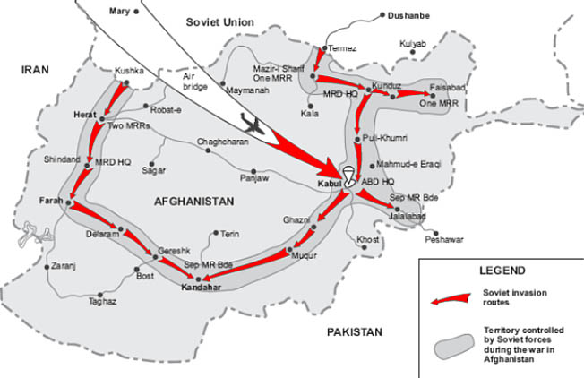When the Soviet Union intervened in Afghanistan in December 1979, it set the stage for a long quagmire, similar to the American War in Vietnam.