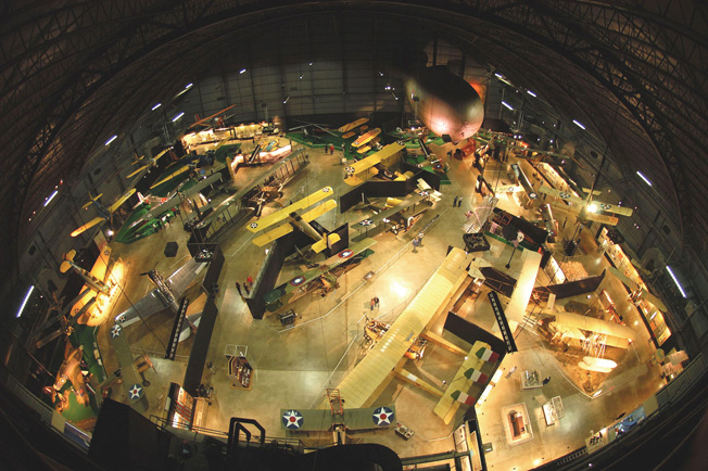 DAYTON, Ohio -- Early Years Gallery at the National Museum of the United States Air Force. (U.S. Air Force photo)