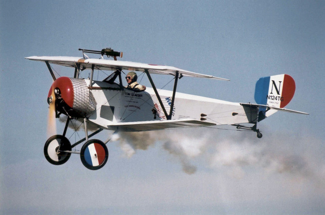 The Dawn Patrol, a World War I Fly-In, takes place every other year.