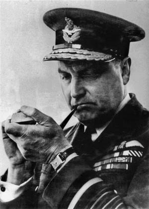 Air Chief Marshall Sholto Douglas led Air Ministry's ongoing feud with Dowding.