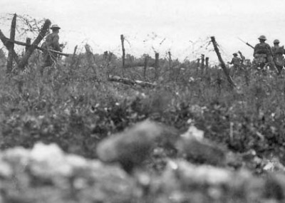 An American at the Battle of the Somme