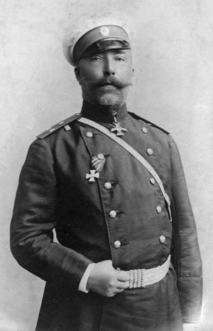 Lt. Gen. Baron Anatole Stoessel, the Russian commander at Port Arthur