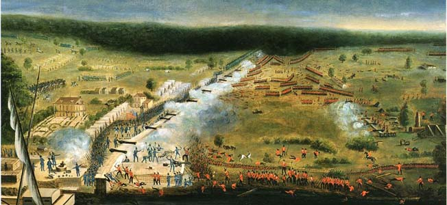 Pride and discipline went up against Andrew Jackson and the American frontiersmen in the Battle of New Orleans.