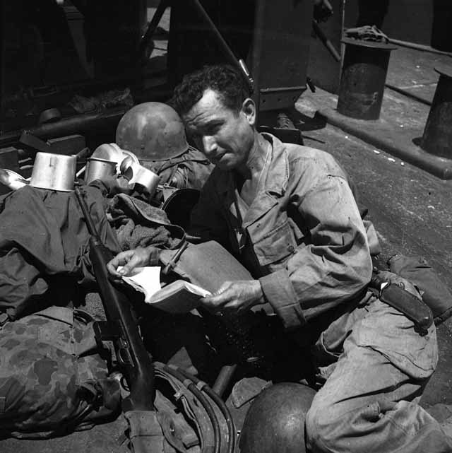 During World War II, the U.S. Government's Armed Services Editions brought much-needed reading material to servicemen around the world.