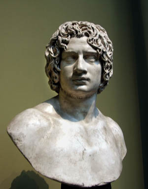 A Roman bust might be Cherusci Chief Arminius, who commanded German auxiliaries attached to Varus' army.