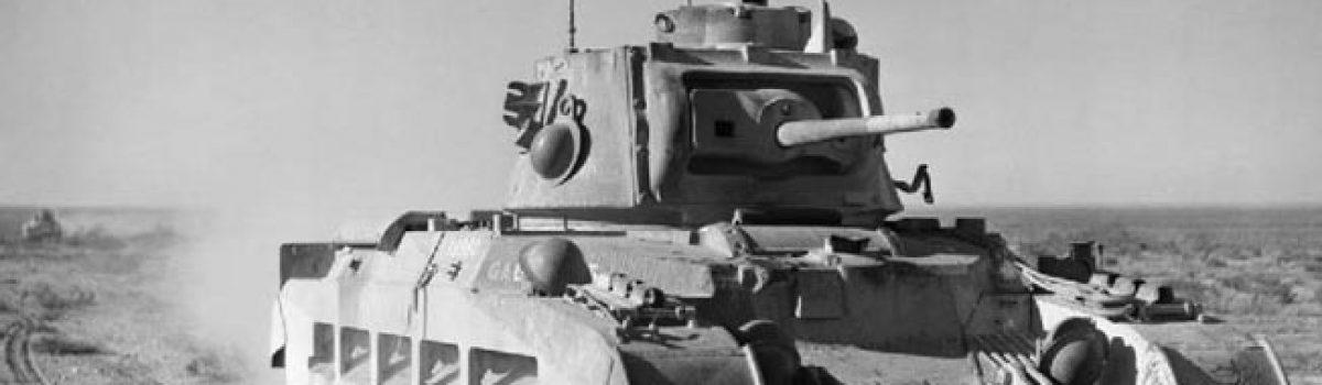 Armor vs. Armor in the Desert