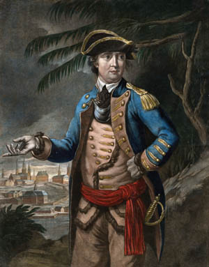 Captain Benedict Arnold.