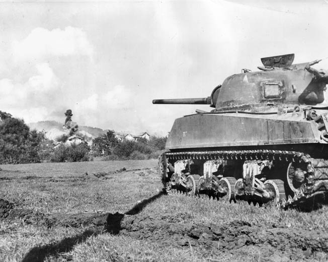 In the final days of Arracourt, American armored crews received assistance from P-47 D-25 Thunderbolts proficient in tank hunting. The Germans called them Jabos for jager-bomber, which means fighter-bomber.